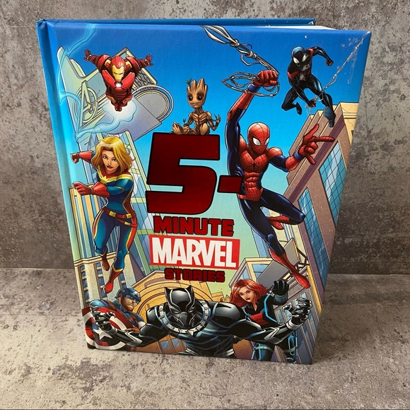Marvel 5 Minute Stories Book NEW Hard Cover